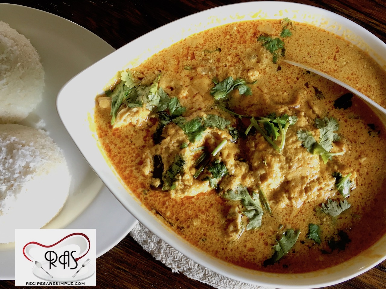 Egg Curry with Coconut Milk or Ground Coconut-Simple Kerala Style