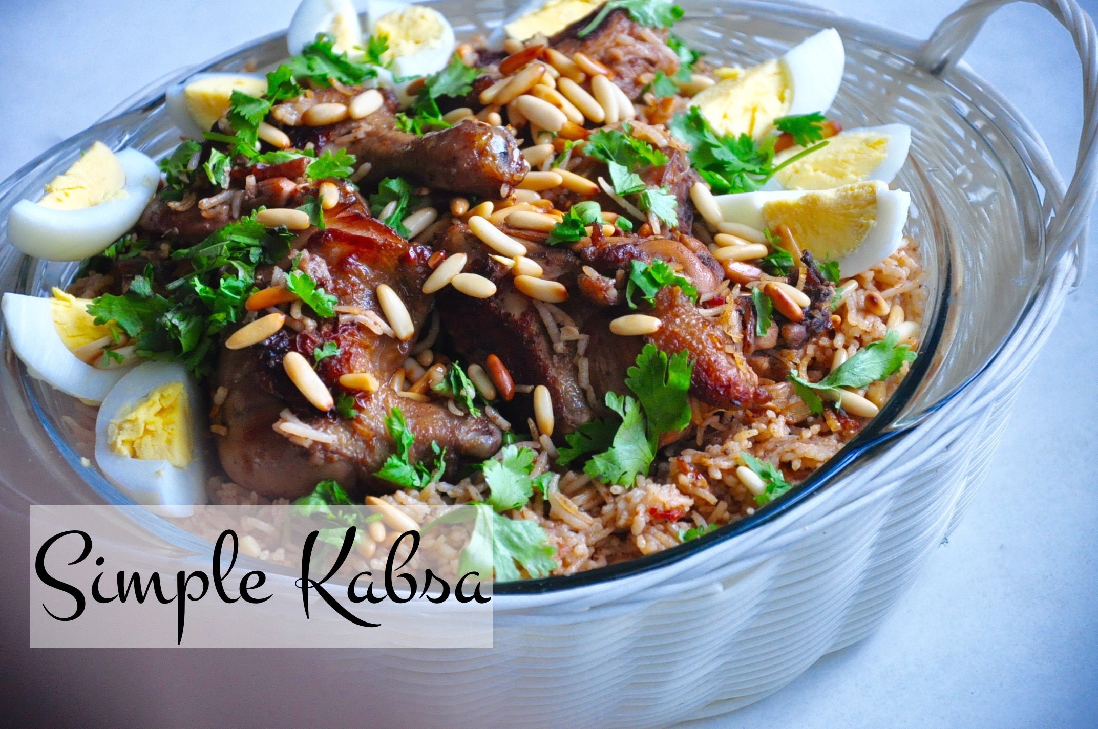 Simple Kabsa Saudi Arabian Fragrant Rice Recipes R Simple