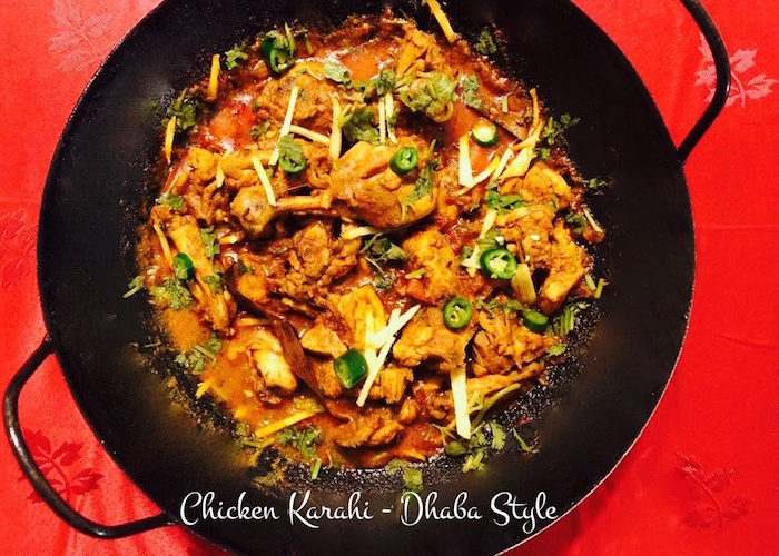 Dhaba Style Chicken Karahi | Quick Recipe and Video
