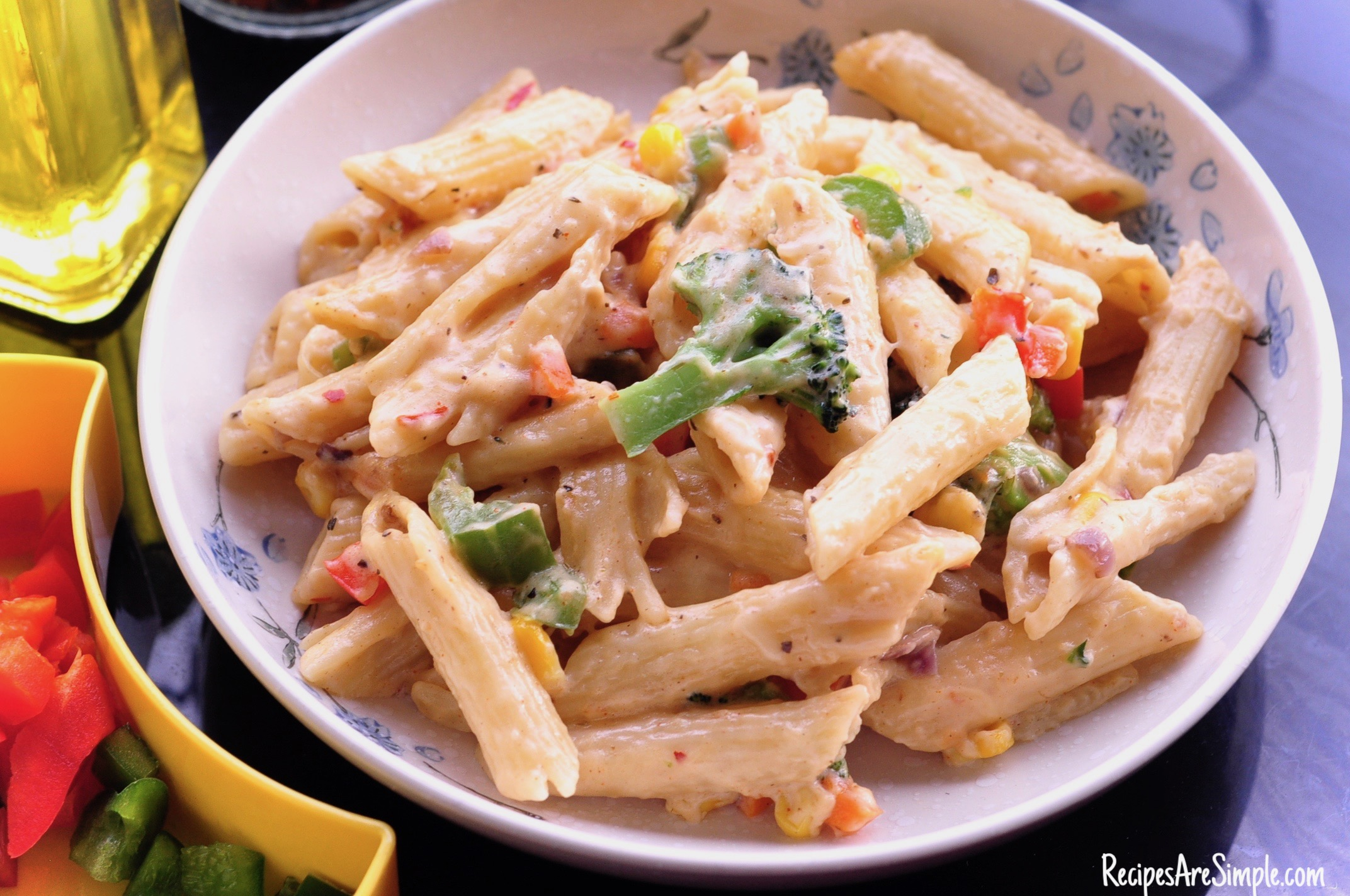 White Sauce Penne Pasta - Creamy and Delicious!